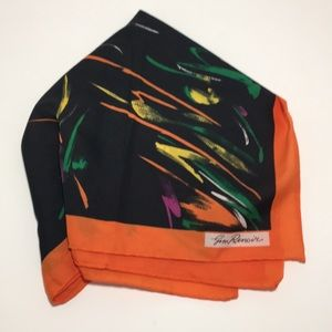 Gin Renoir Vintage abstract Fall/Autumn Scarf